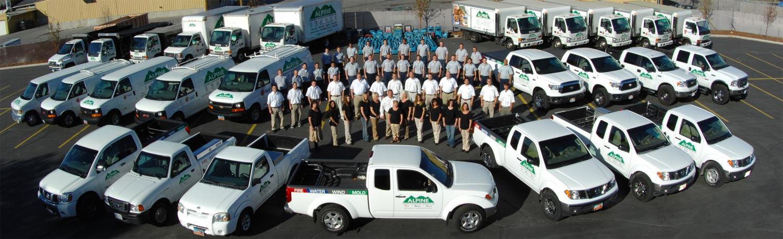 Alpine Cleaning Restoration Team Photo