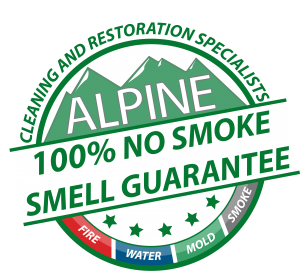 Alpine 100% No Smoke Smell Guarantee Seal