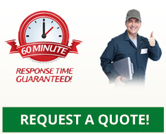 Request a quote! 60 Minute Response Time Guaranteed!